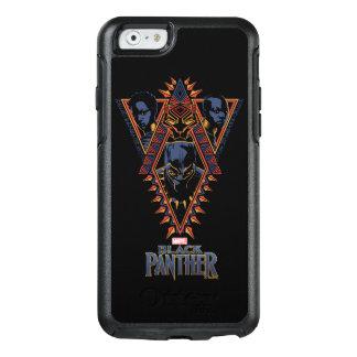 Funda Otterbox Para iPhone 6/6s El panel tribal de los guerreros de la pantera