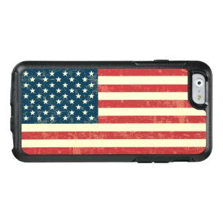 Funda Otterbox Para iPhone 6/6s El vintage se descoloró la bandera americana los