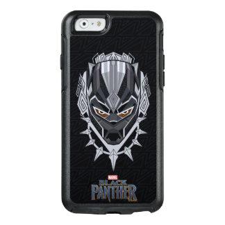 Funda Otterbox Para iPhone 6/6s Emblema de la cabeza de la pantera negra de la