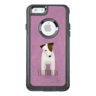 Funda Otterbox Para iPhone 6/6s enchufe Russell del perro del terrier con la
