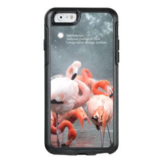 Funda Otterbox Para iPhone 6/6s Flamencos de Smithsonian el   en la nieve