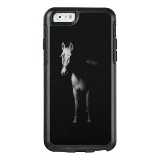 Funda Otterbox Para iPhone 6/6s Foto blanco y negro del caballo