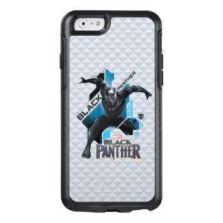 Funda Otterbox Para iPhone 6/6s Gráfico de alta tecnología negro del carácter de