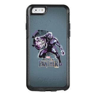 Funda Otterbox Para iPhone 6/6s Graphic del guerrero de la pantera negra el | de