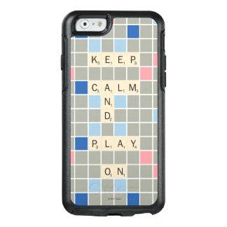 Funda Otterbox Para iPhone 6/6s Guarde la calma y el juego encendido