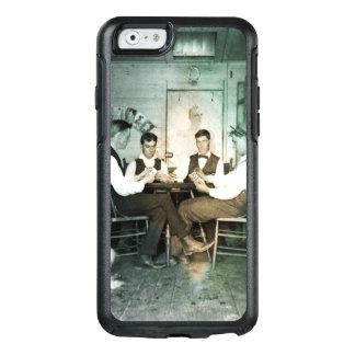 Funda Otterbox Para iPhone 6/6s Hombres 1890 del juego de póker que juegan la foto