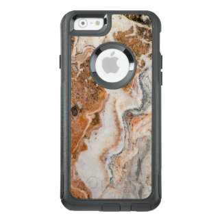 Funda Otterbox Para iPhone 6/6s Imagen de Brown y de la piedra de mármol beige
