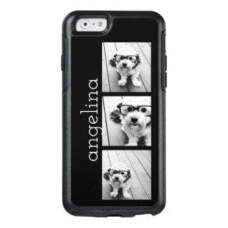 Funda Otterbox Para iPhone 6/6s Las 3 fotos de moda y nombre - ELIJA EL COLOR DE
