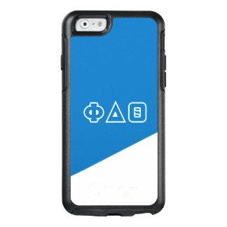 Funda Otterbox Para iPhone 6/6s Letras del Griego de la theta el | del delta de la