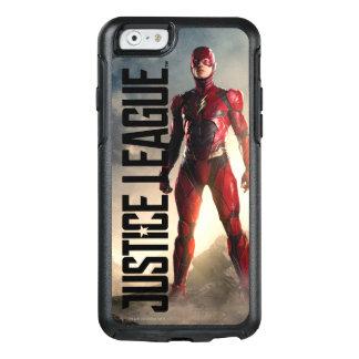 Funda Otterbox Para iPhone 6/6s Liga de justicia el | el flash en campo de batalla