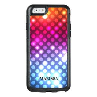 Funda Otterbox Para iPhone 6/6s Luces coloridas de Bokeh del purpurina elegante