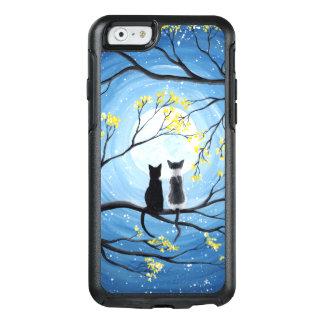 Funda Otterbox Para iPhone 6/6s Luna caprichosa con los gatos