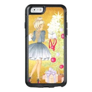 Funda Otterbox Para iPhone 6/6s Magia del navidad - Blonde que adorna un árbol