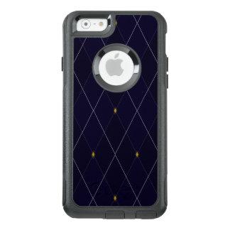 Funda Otterbox Para iPhone 6/6s Marina de guerra brillante Argyle del diamante