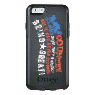 Funda Otterbox Para iPhone 6/6s Mi país nunca paró el ser gran caso del iPhone