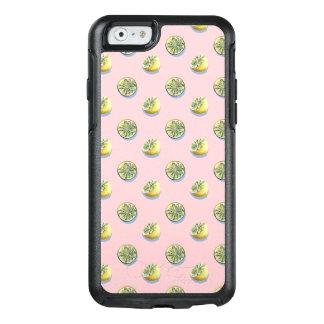 Funda Otterbox Para iPhone 6/6s Modelo amarillo cortado de la pintura del limón