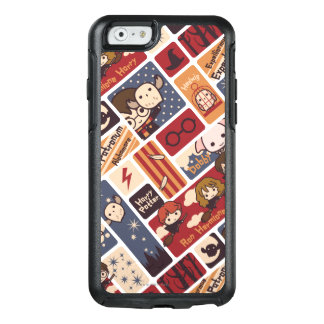 Funda Otterbox Para iPhone 6/6s Modelo de las escenas del dibujo animado de Harry