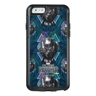 Funda Otterbox Para iPhone 6/6s Modelo geométrico negro del carácter de la pantera