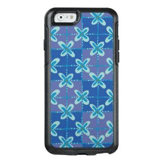 Funda Otterbox Para iPhone 6/6s Modelo inconsútil del batik floral azul de