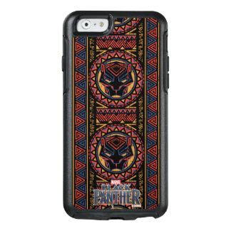 Funda Otterbox Para iPhone 6/6s Modelo tribal de la cabeza de la pantera de la