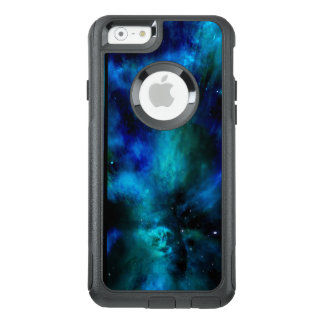 Funda Otterbox Para iPhone 6/6s Nebulosa, estrellas y planeta azules