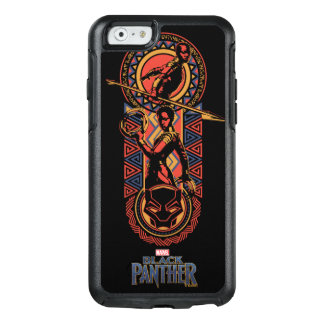 Funda Otterbox Para iPhone 6/6s Pantera negra el | Okoye y el panel de Nakia