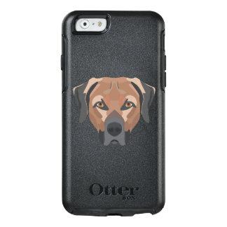Funda Otterbox Para iPhone 6/6s Perro Brown Labrador del ilustracion
