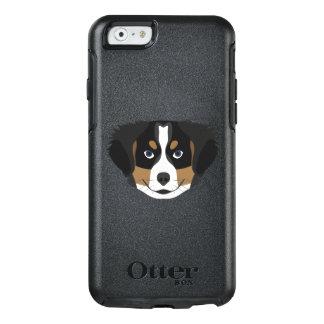Funda Otterbox Para iPhone 6/6s Perro de montaña de Bernese del ilustracion