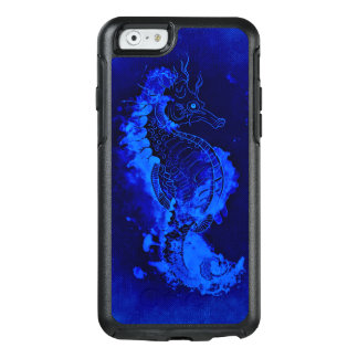 Funda Otterbox Para iPhone 6/6s Pintura azul del Seahorse