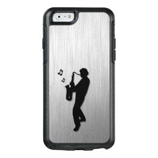 Funda Otterbox Para iPhone 6/6s Plata del jugador de saxofón
