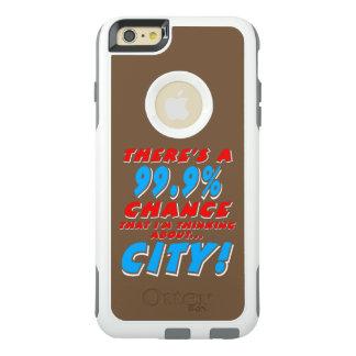 Funda Otterbox Para iPhone 6/6s Plus 99,9% CIUDAD (blanca)