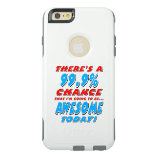 Funda Otterbox Para iPhone 6/6s Plus 99,9% El IR A SER IMPRESIONANTE (negro)