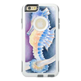 Funda Otterbox Para iPhone 6/6s Plus Arte de la acuarela del Seahorse
