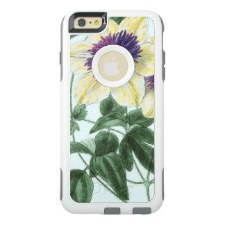 Funda Otterbox Para iPhone 6/6s Plus Arte de la flor del Clematis