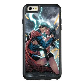 Funda Otterbox Para iPhone 6/6s Plus Arte promocional cómico del superhombre/de la