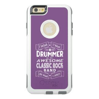 Funda Otterbox Para iPhone 6/6s Plus Banda de rock clásica impresionante del BATERÍA