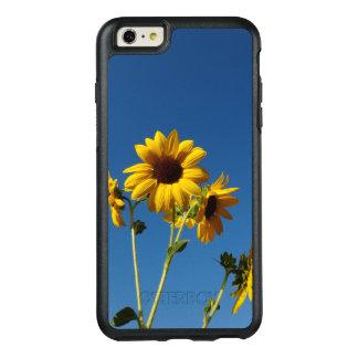 Funda Otterbox Para iPhone 6/6s Plus Caja de la foto del girasol y de la abeja