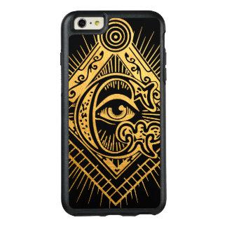 Funda Otterbox Para iPhone 6/6s Plus Caja de oro del iPhone de OtterBox del símbolo del