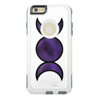 Funda Otterbox Para iPhone 6/6s Plus Caja púrpura de la serie del viajero de OtterBox