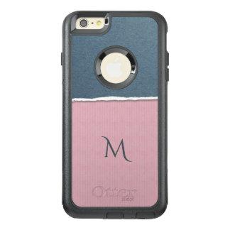Funda Otterbox Para iPhone 6/6s Plus Cajas de encargo del teléfono del monograma de la
