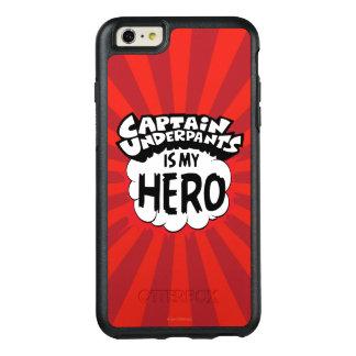 Funda Otterbox Para iPhone 6/6s Plus Capitán Underpants el | mi héroe