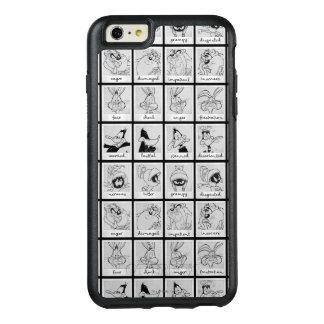 Funda Otterbox Para iPhone 6/6s Plus Carta LOONEY de la emoción del carácter de TUNES™