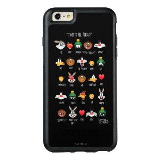 Funda Otterbox Para iPhone 6/6s Plus Carta LOONEY de TUNES™ Emoji