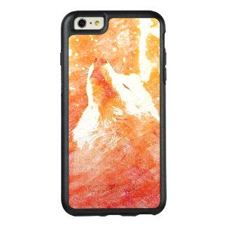 Funda Otterbox Para iPhone 6/6s Plus Caso más de Otterbox del iPhone 6 anaranjados del