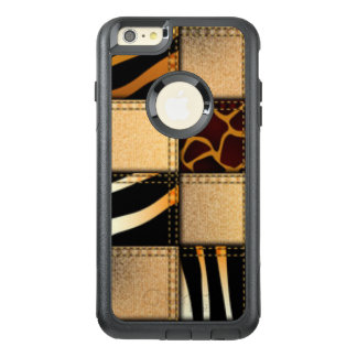 Funda Otterbox Para iPhone 6/6s Plus Collage de los vaqueros del estampado de animales