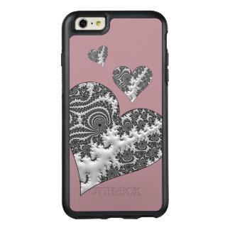 Funda Otterbox Para iPhone 6/6s Plus Corazones de la fantasía 3 D