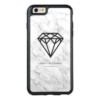 Funda Otterbox Para iPhone 6/6s Plus Diamante con mármol