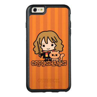 Funda Otterbox Para iPhone 6/6s Plus Dibujo animado Hermione y Crookshanks