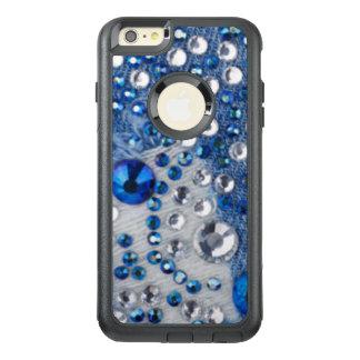 Funda Otterbox Para iPhone 6/6s Plus Diseño azul del modelo de Jean de los diamantes