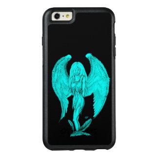 Funda Otterbox Para iPhone 6/6s Plus Diseño del ángel, del negro y del verde